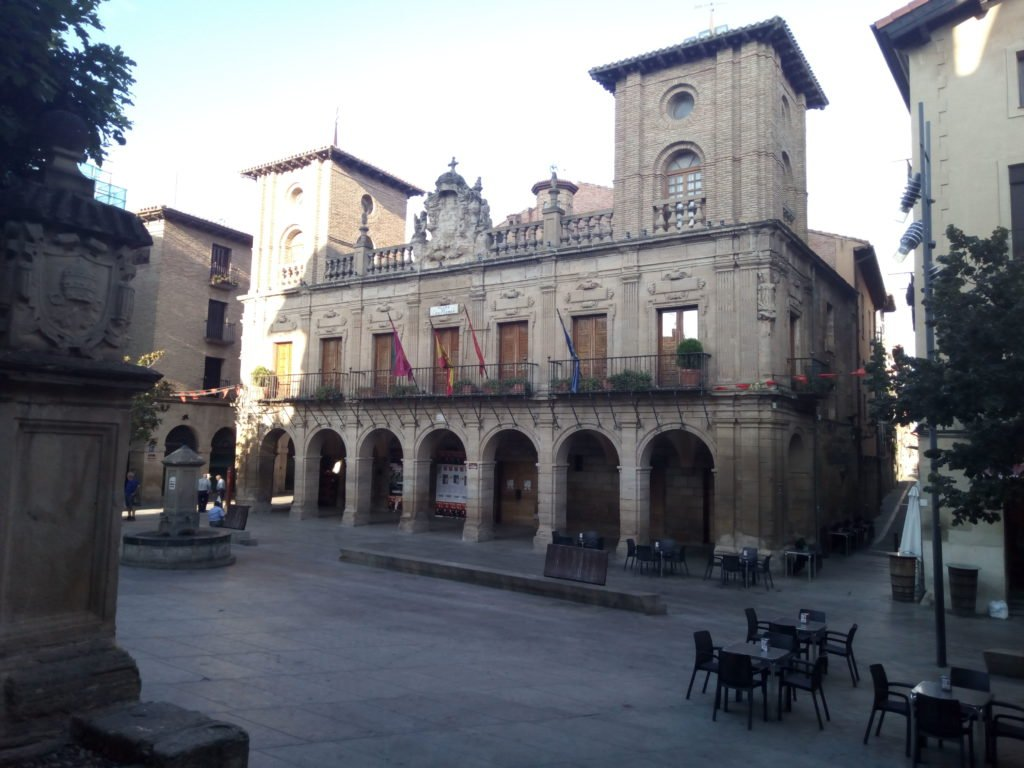 Viana. Plaza de los Fueros