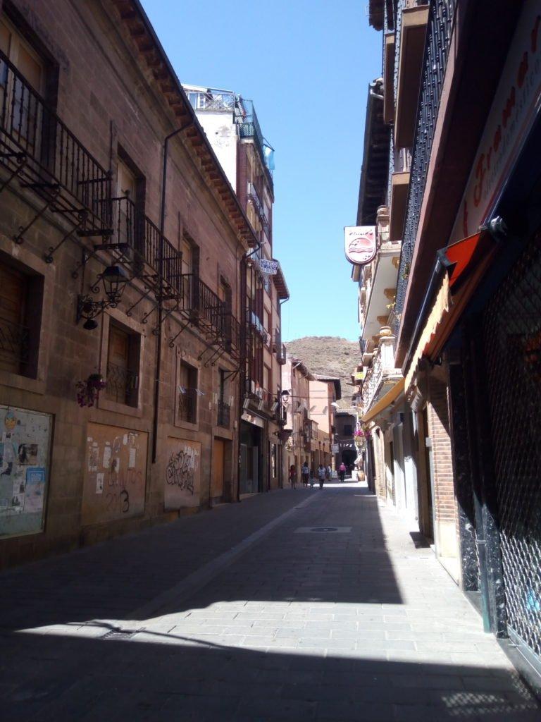 Una calle de Nájera
