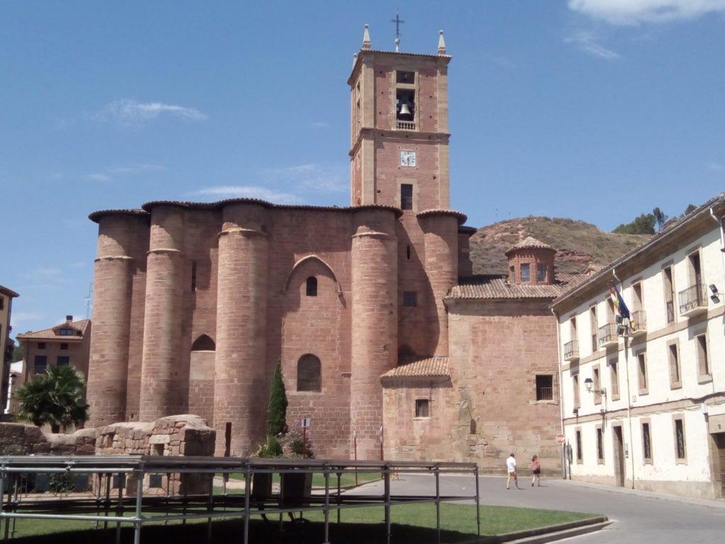 Iglesia de Santa María La Real, en Nájera