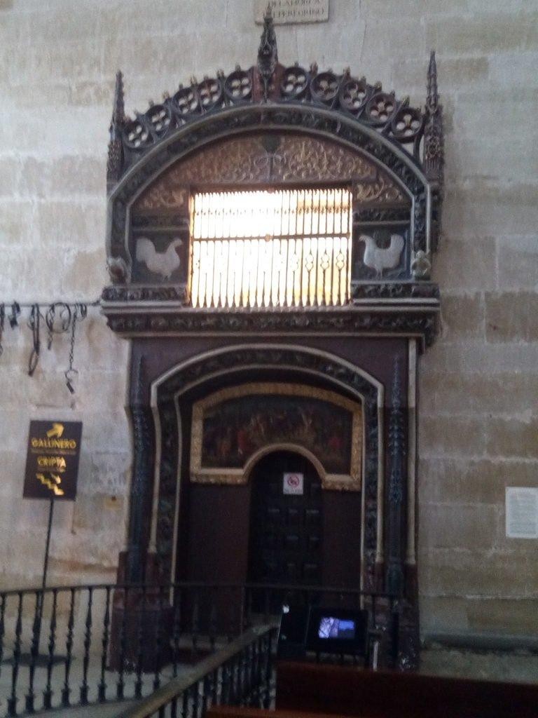 Gallinero gótico en la catedral de Santo Domingo de la Calzada