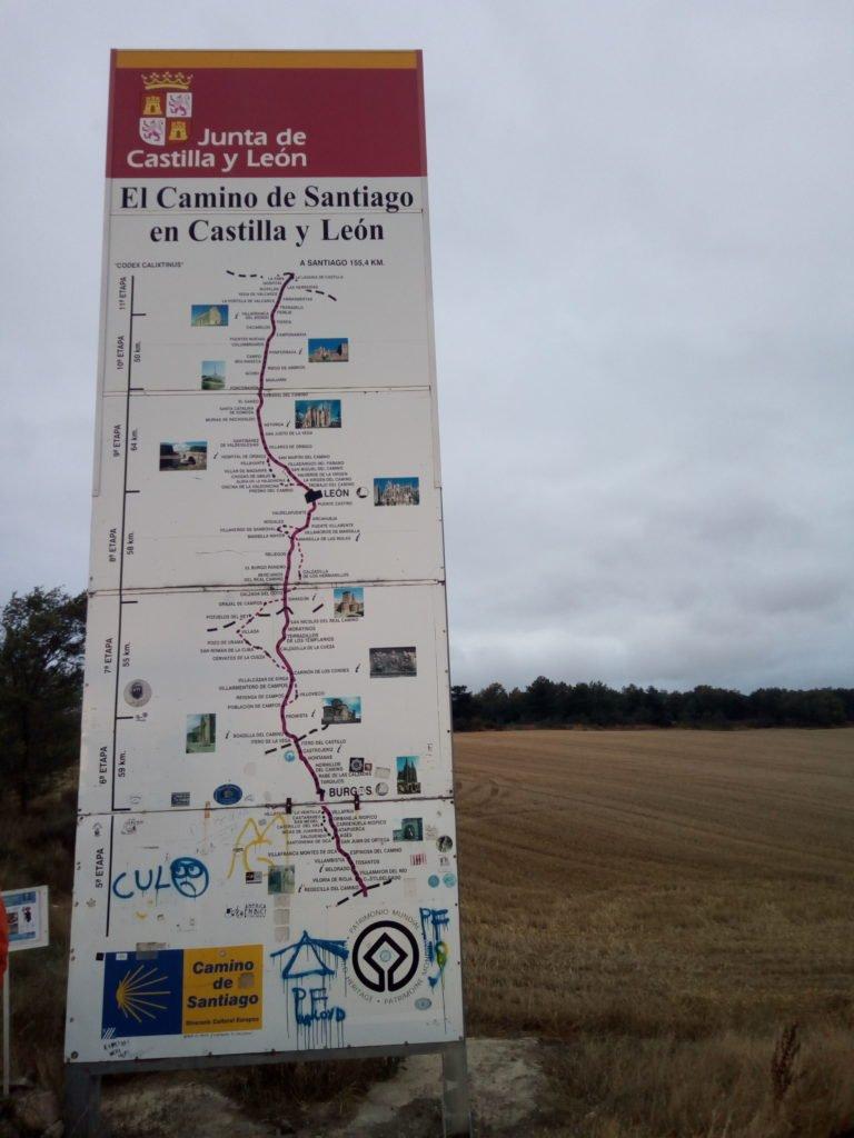 Adios a La Rioja y hola a Castilla - León
