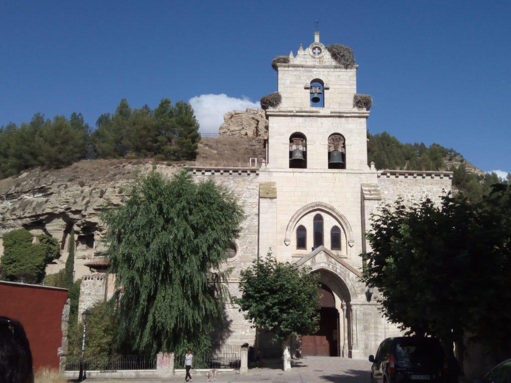 Iglesia de Santa María, en Belorado