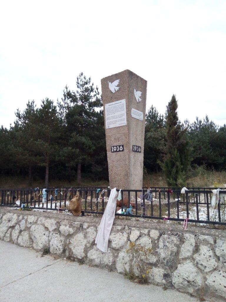 Monumento a los Caídos, Villafranca Montes de Oca