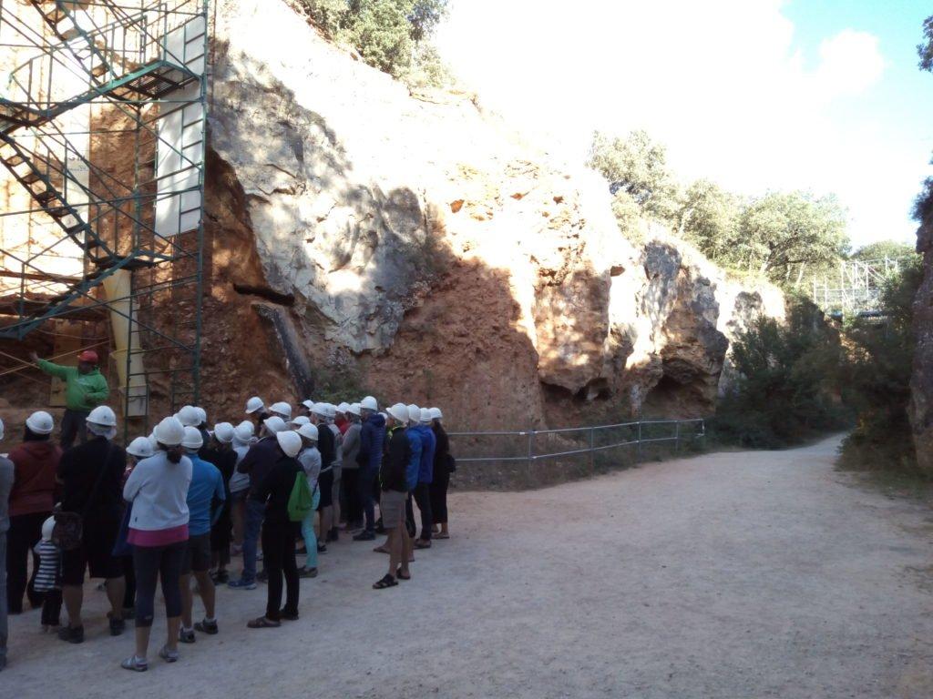 Visita turística al yacimiento de Atapuerca
