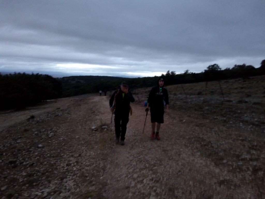 Primeros pasos saliendo de Atapuerca