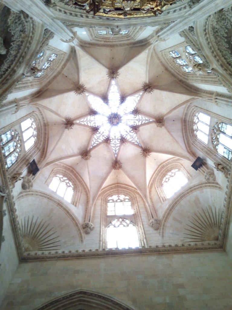Cúpula de la Capilla del Condestable, una catedral dentro de la Catedral. Burgos