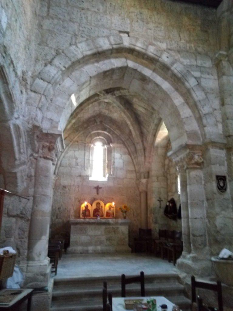 Interior del Albergue de San Nicolás