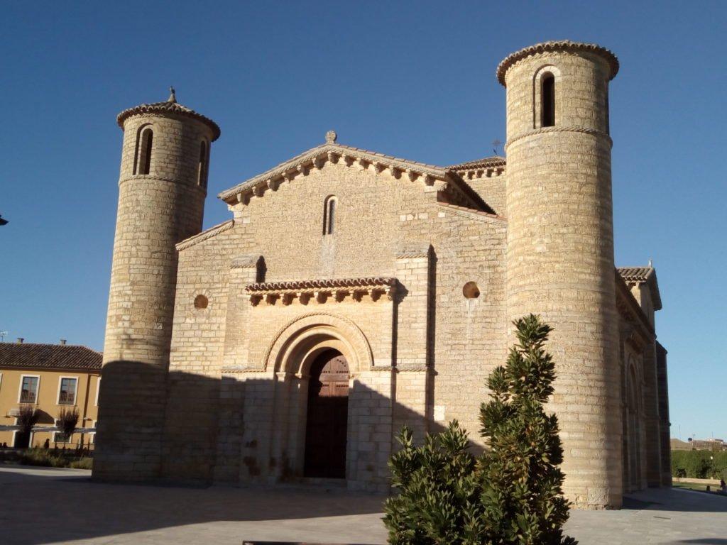 Iglesia de San Martín en Frómista. Vista frontal