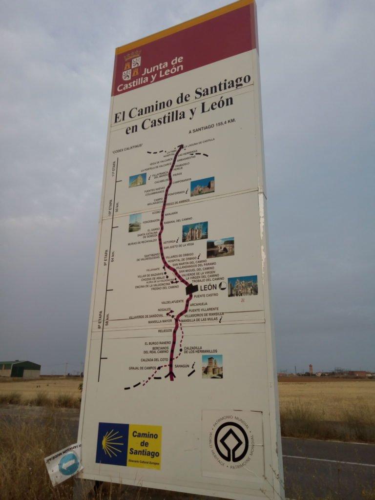 Hito de separación de Palencia y León