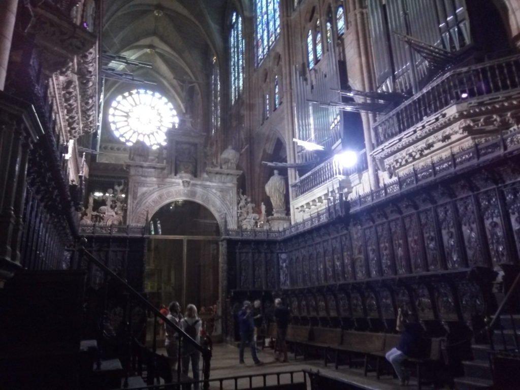 Coro de la Catedral de León