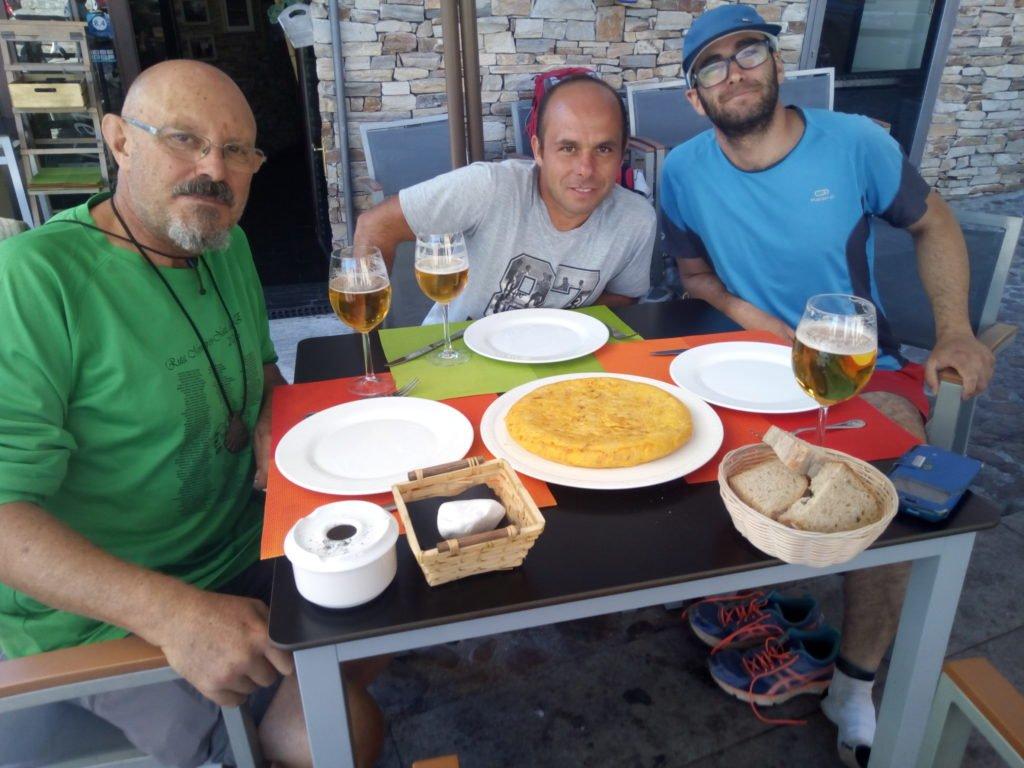 Pinchito de tortilla en Molinaseca