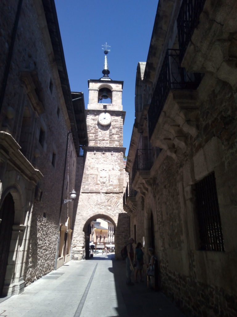 Torre del Reloj en Ponferrada