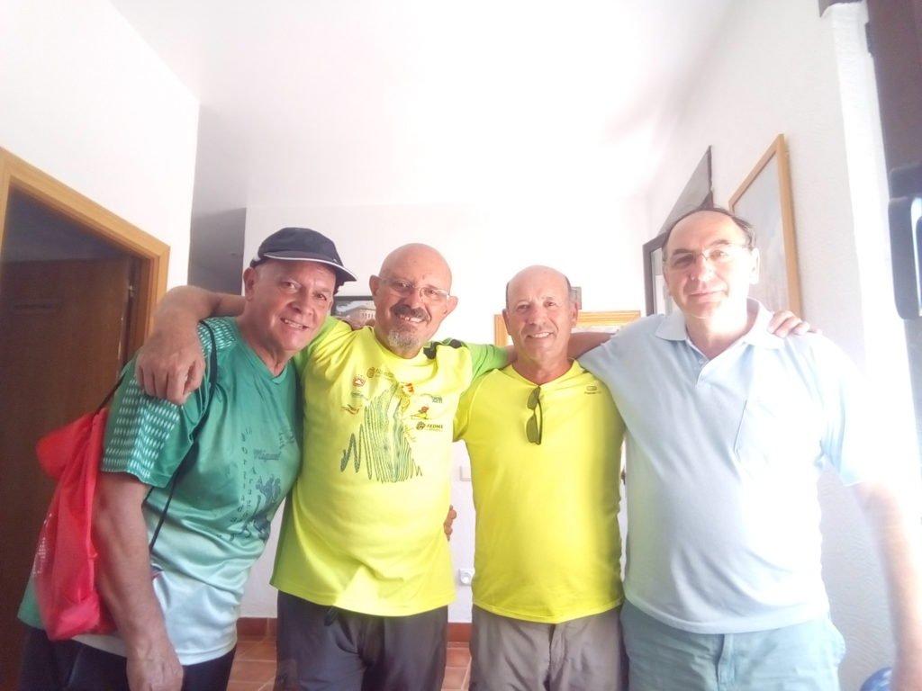 Miguel Angel, Antonio, Tano y Santos