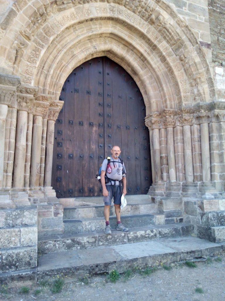 En la Puerta del Perdón. Villafranca del Bierzo