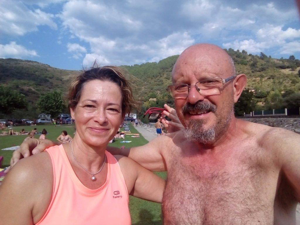 Con Laura. Villafranca del Bierzo