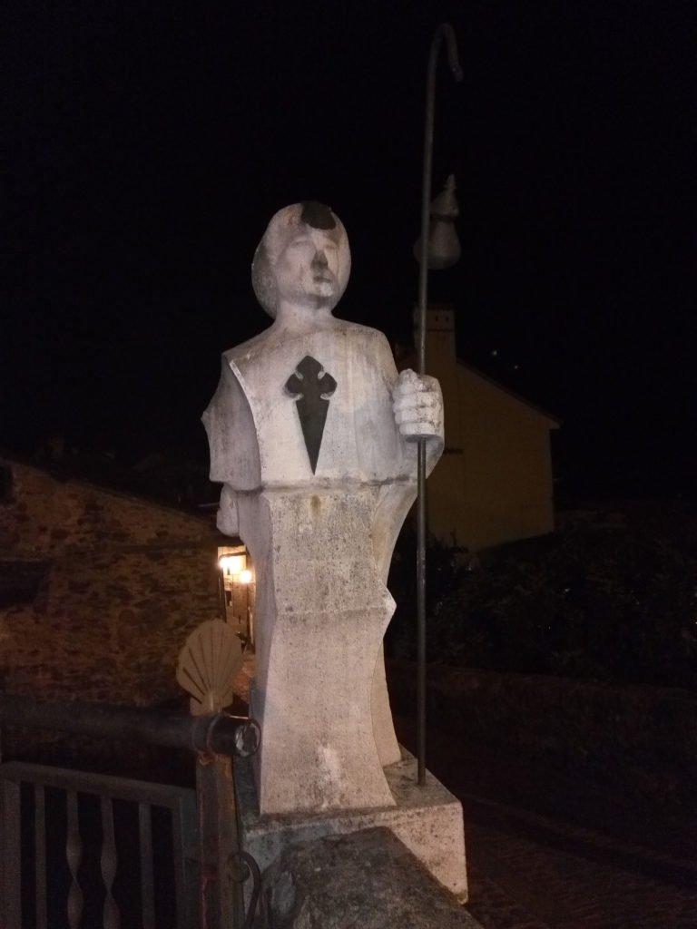 Monumento en Alegoría al Peregrino en Villafranca del Bierzo