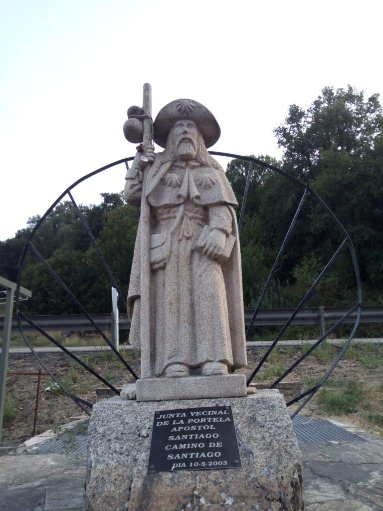 Apostol Santiago en la Portela de Valcarce