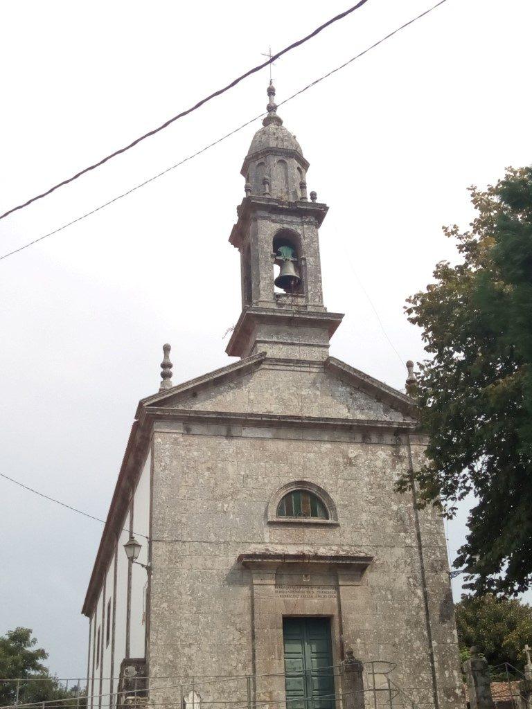 Iglesia de Lavacolla. De 1840