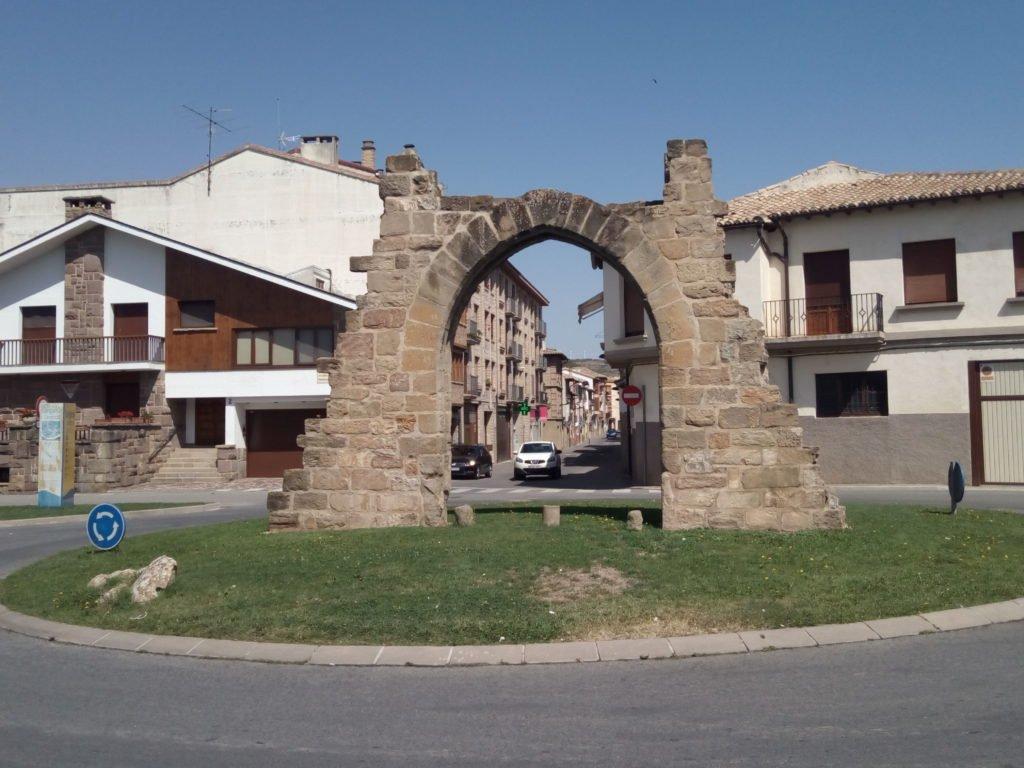 Portal de Carajeas, Sangüesa
