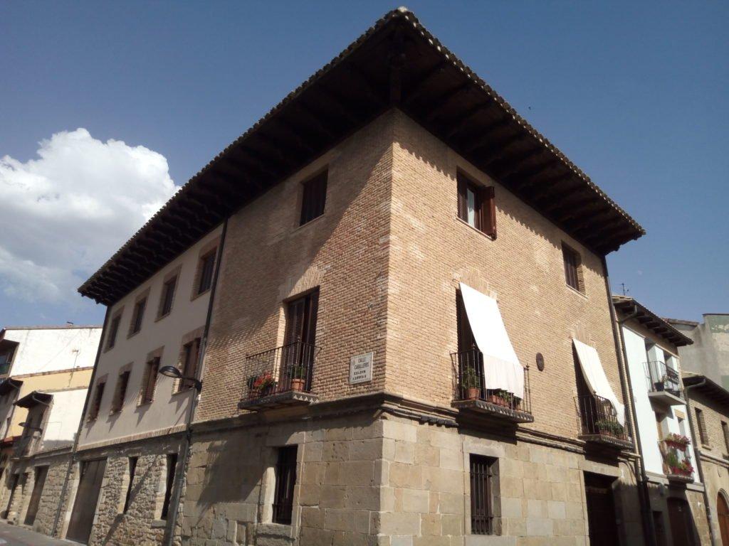 Palacio Iñiguez de Medrano, del siglo XVI. Sangüesa