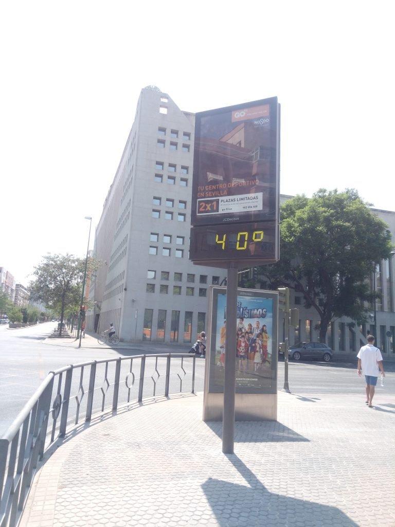¡Hace calor! Esto es Sevilla