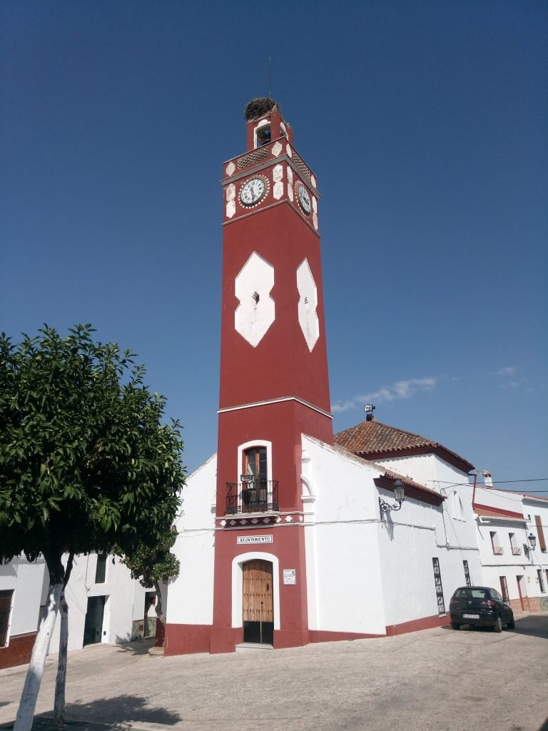 Torre del Reloj. Ayuntamiento de Almadén de la Plata