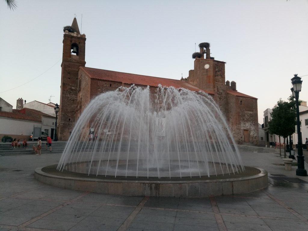 Iglesia parroquial de Monesterio