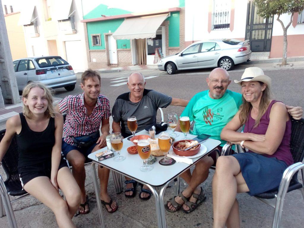 Cervezas y tapas en La Canaria, (Sandra)