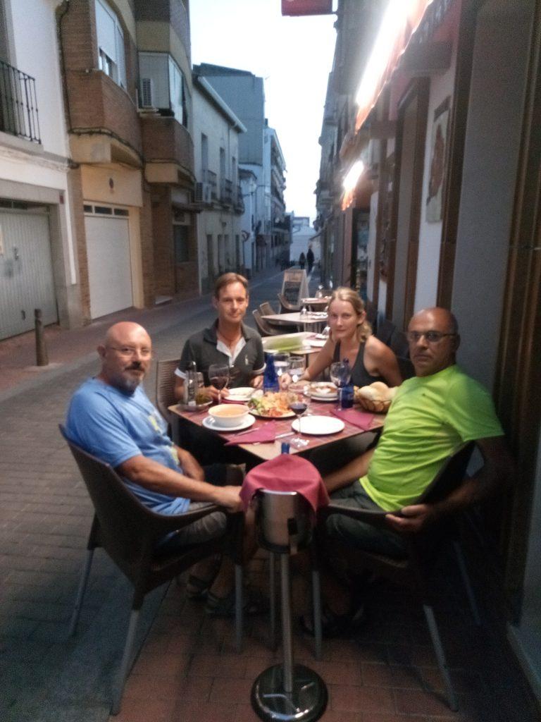 Cenando en Mérida