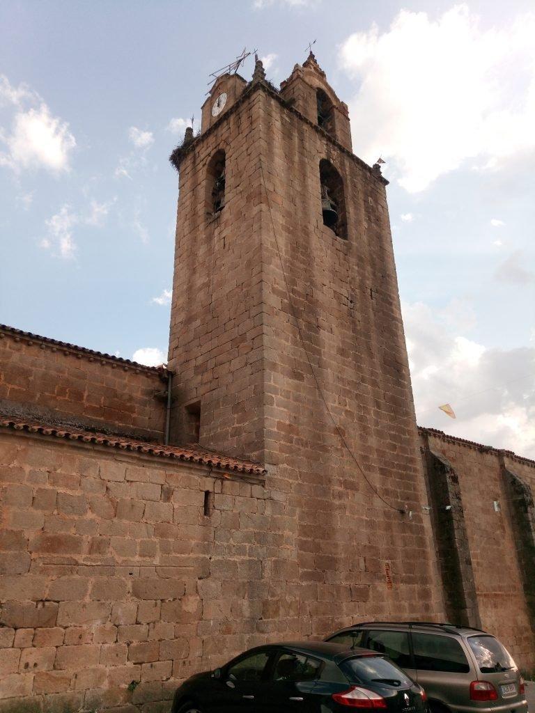 Torre de la iglesia de Santa Marina. Cañaveral
