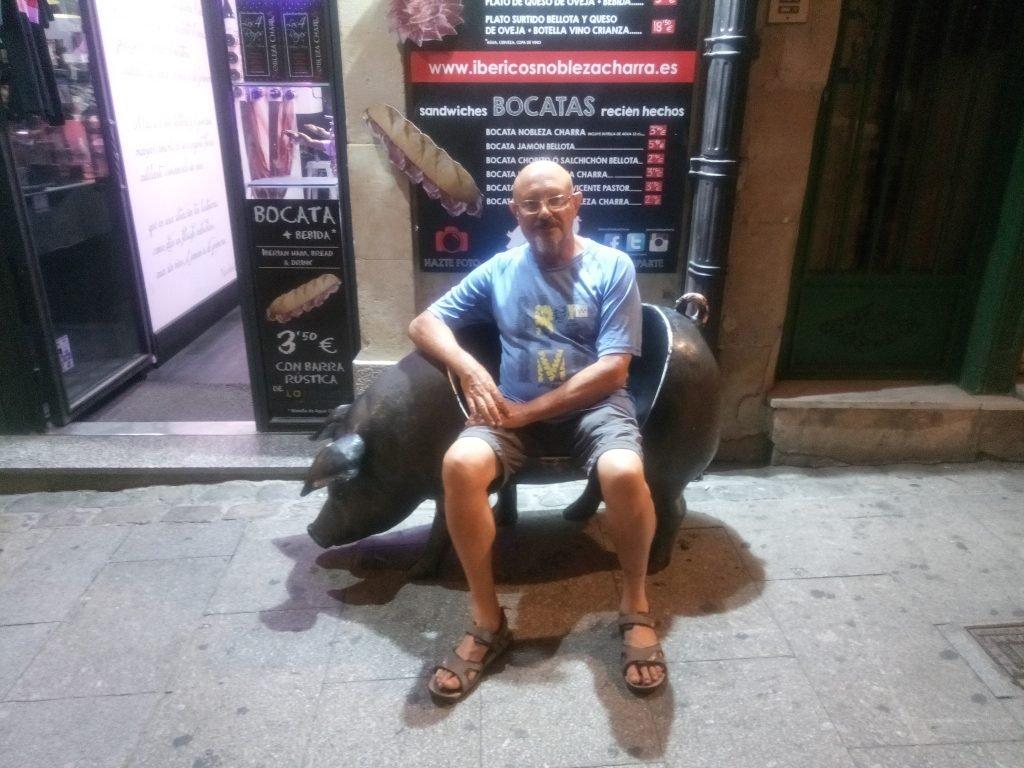 ¡Curiosa silla!. Salamanca