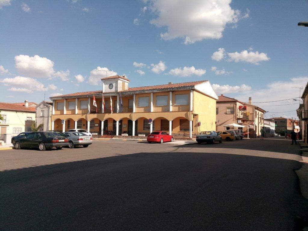 Plaza. El Cubo del Vino