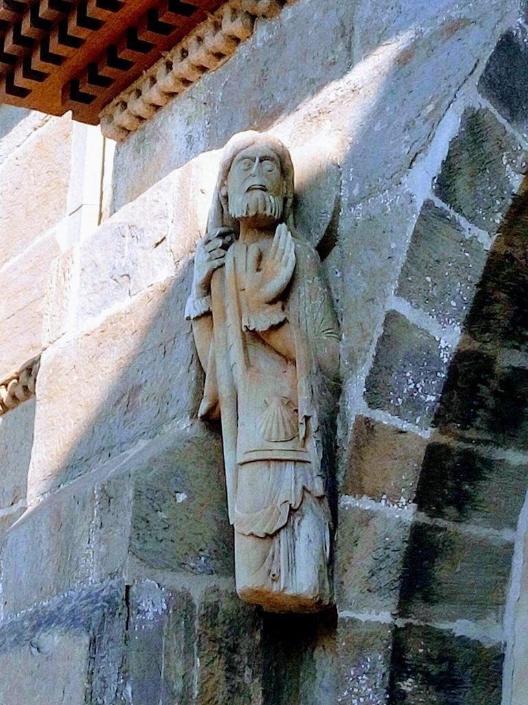 El Santiago Peregrino más antiguo. Santa Marta de Tera