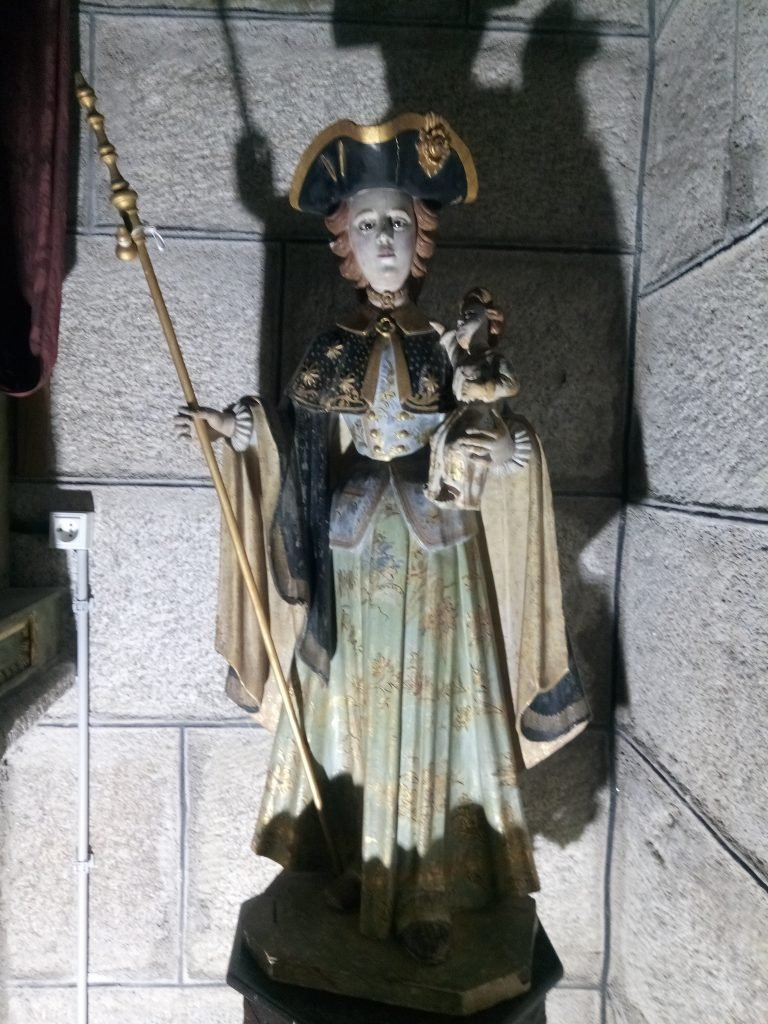 Virgen Peregrina. Xunquera de Ambía