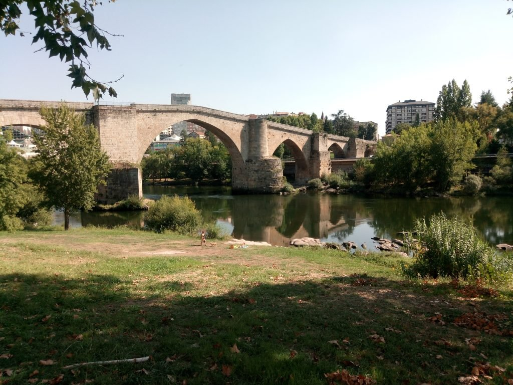 Puente romano sobre el Miño, en Ourense