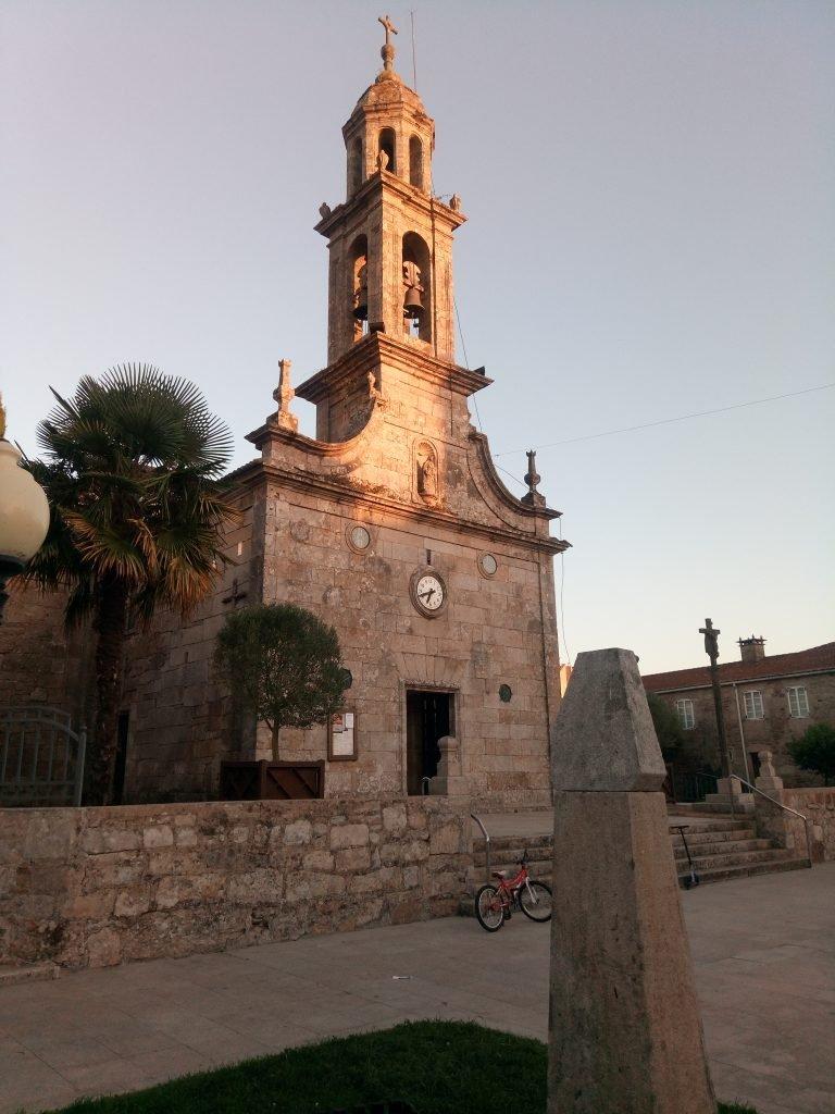 Iglesia de Santa Eulalia, en Silleda