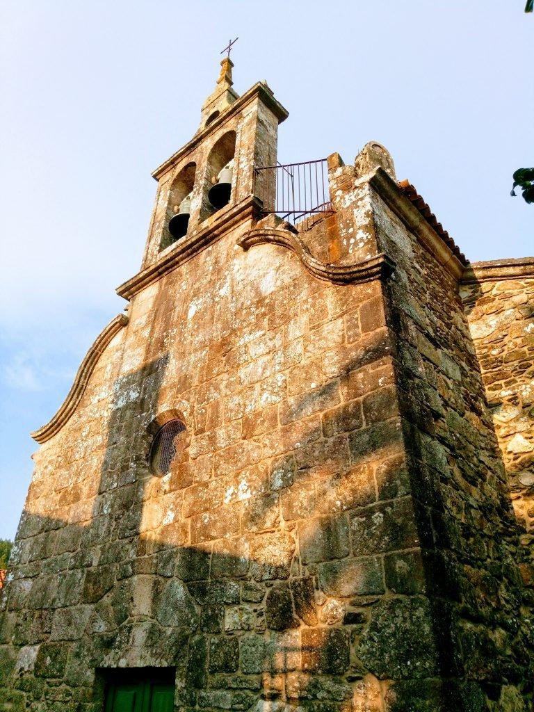 Iglesia de Santa María Magdalena en Ponte Ulla