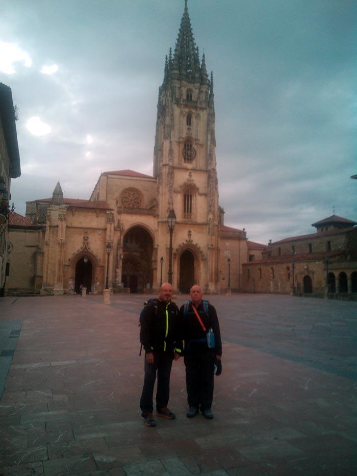 Catedral de Oviedo. Inicio del Camino Primitivo