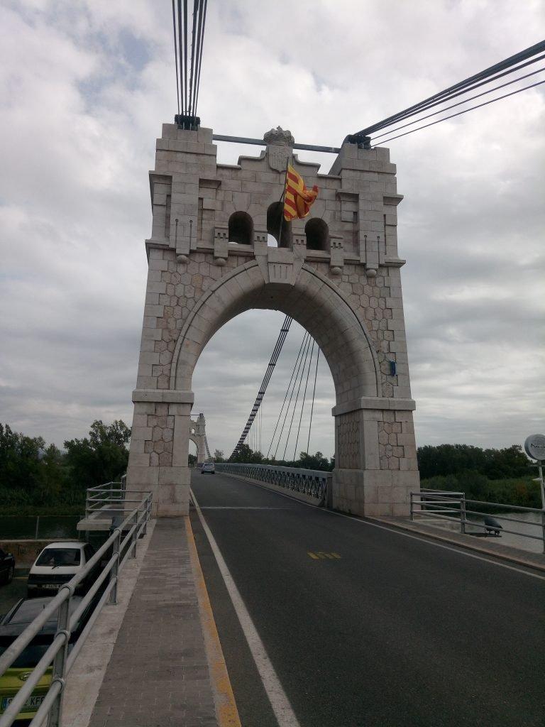 Puente sobre el Ebro. Amposta