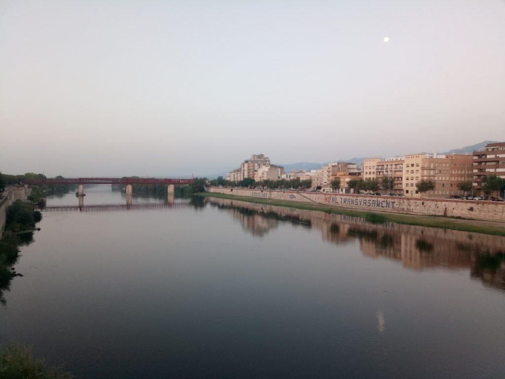 El Ebro en Tortosa