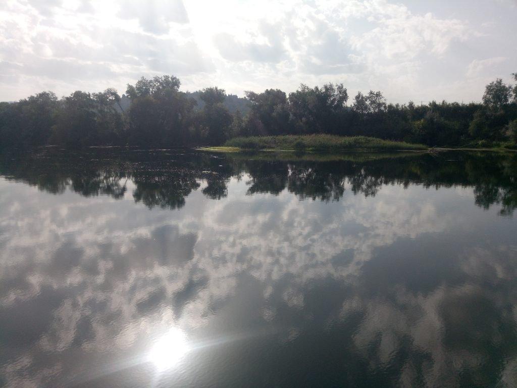 Bonito paisaje en el Ebro