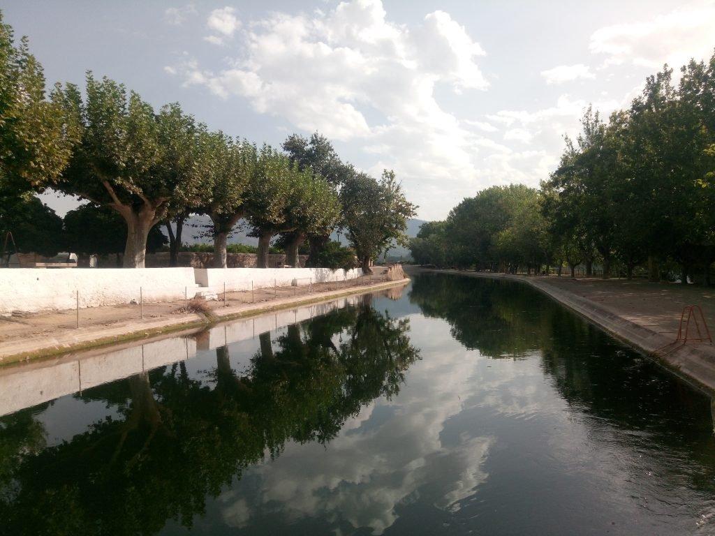 Vista del Canal de la Margen Derecha