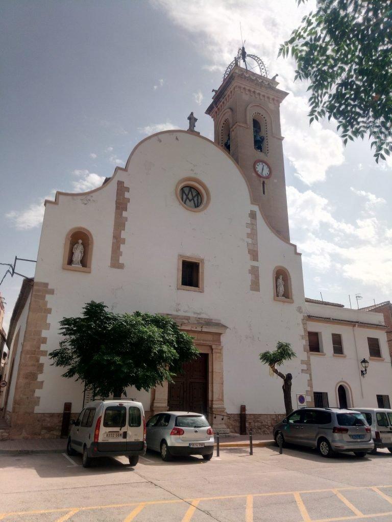 Iglesia de San Martín, en Xerta.