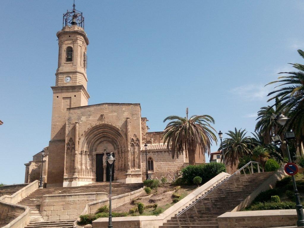 Iglesia y colegiata de Caspe