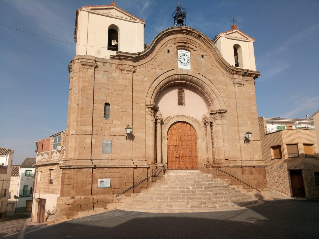 Iglesia de San Juan Bautista, Chiprana