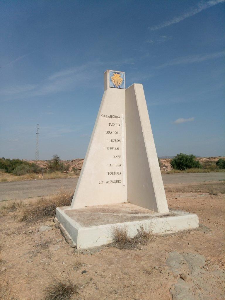 Otro monumento al Camino