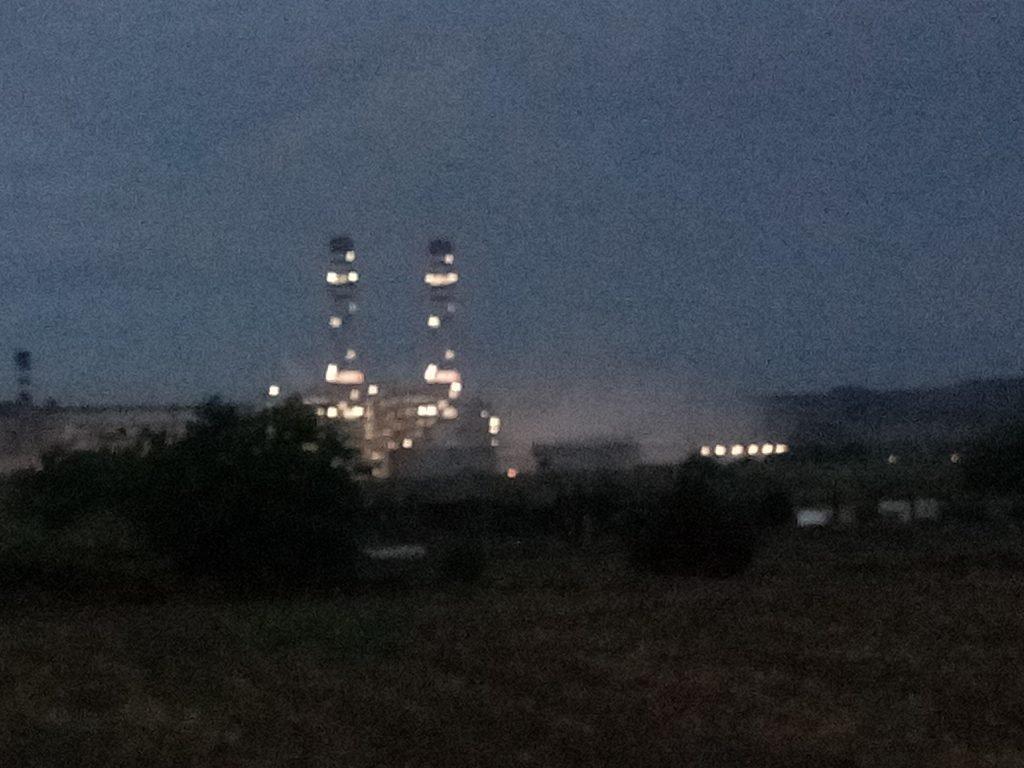 La central térmica de Escatrón es propiedad de la empresa Repsol desde junio de 2018.