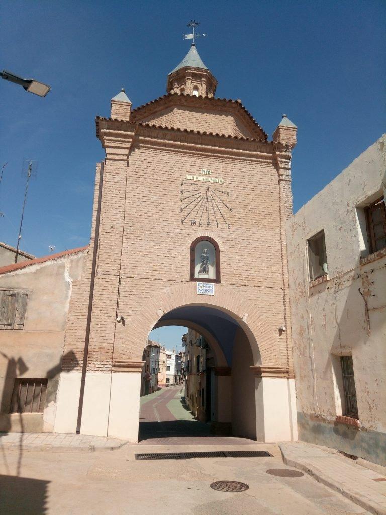 Los Portales de Quinto de Ebro daban acceso a la localidad.