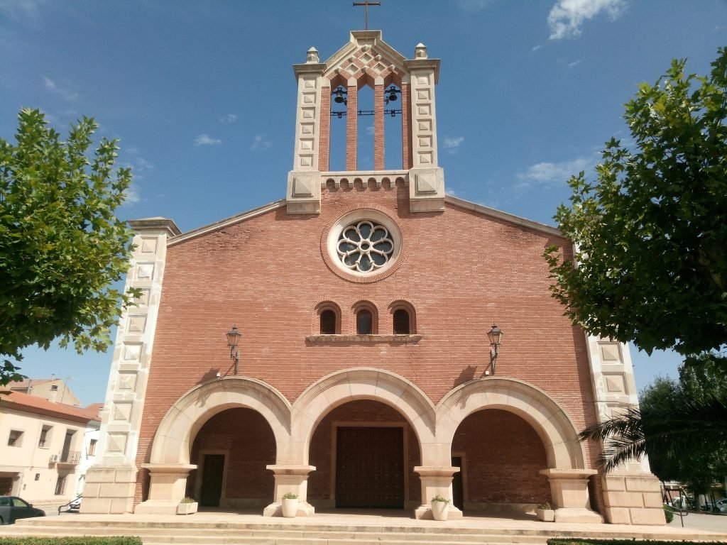 Iglesia nueva de la Asunción, Quinto de Ebro