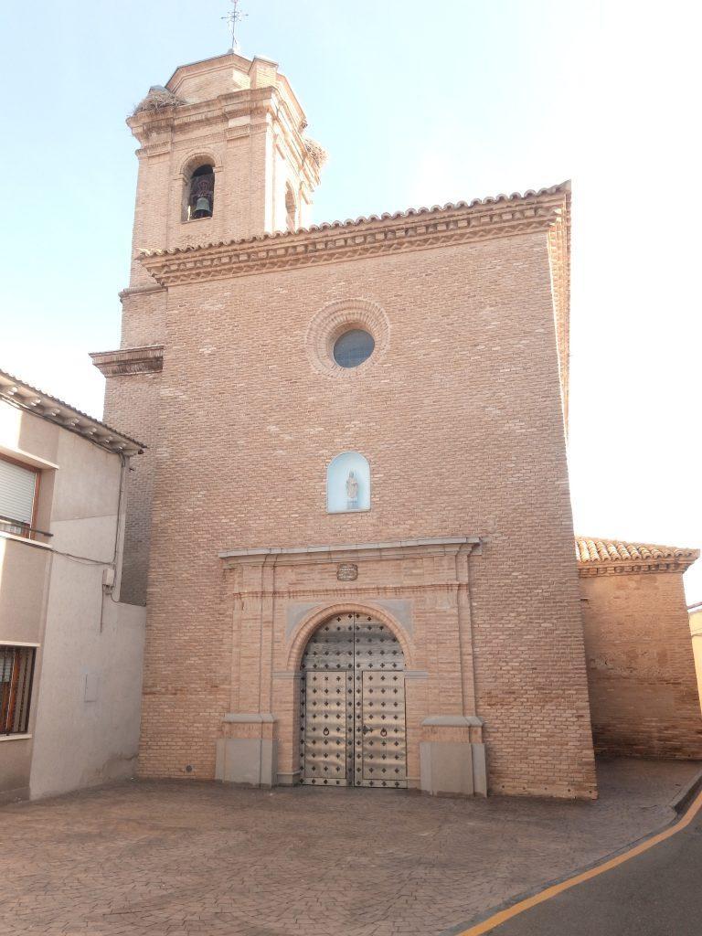 Iglesia de San Ildefonso. Cabañas de Ebro.